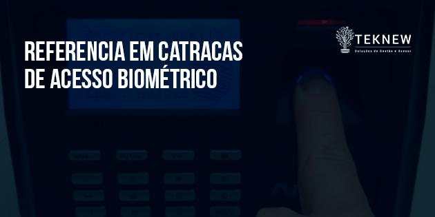 Referência em Catracas de Acesso Biométrico